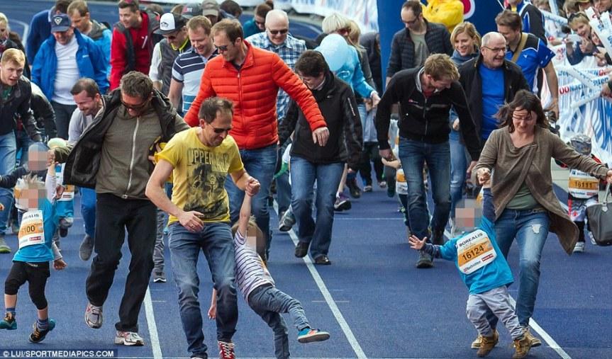 Mladinska športna tekmovanja – da aline?